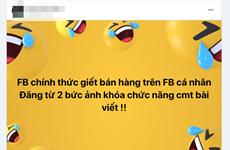 Người dùng 'than trời' vì không thể bình luận bài viết trên Facebook