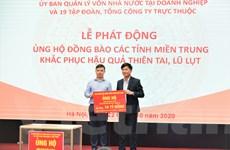 VNPT ủng hộ 10 tỷ đồng hỗ trợ người dân 5 tỉnh miền Trung