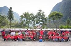 VietnamPlus chung tay giúp đồng bào nơi ải Bắc dịu cơn khát mùa khô