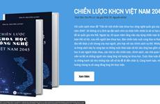 Công bố nền tảng trực tuyến đóng góp vào chiến lược KHCN Việt Nam 2045