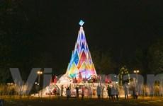 Ngắm những cây thông 'khổng lồ' nhất định phải ghé qua dịp Giáng Sinh