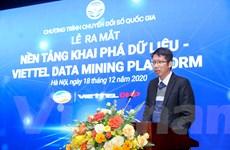 Ra mắt nền tảng khai phá dữ liệu đầu tiên do người Việt phát triển