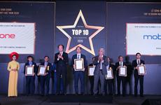 MobiFone nhận cú đúp giải thưởng Doanh nghiệp Công nghệ thông tin 2020