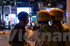 Hà Nội: Hàng loạt 'ma men' bị xử phạt vì nồng độ cồn vượt mức cho phép