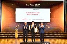 Viettel dẫn đầu số lượng giải thưởng Sao Khuê năm 2021