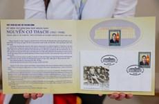 Bộ tem đặc biệt kỷ niệm 100 năm sinh Nhà ngoại giao Nguyễn Cơ Thạch