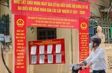 Phố phường Hà Nội rực rỡ cờ hoa chào đón ngày hội trọng đại toàn quốc