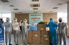 Viettel lắp đặt và kết nối hàng ngàn camera giám sát khu vực cách ly