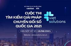 Viet Solutions 2021: Tìm giải pháp thúc đẩy Chuyển đổi số Quốc gia