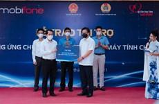 MobiFone tài trợ 200 ngàn tài khoản học tập và truy cập Internet