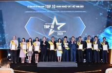 Vinh danh Top 10 doanh nghiệp Công nghệ thông tin Việt Nam 2021