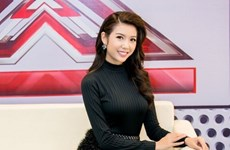 """Á hậu Quốc tế Thúy Vân làm MC của """"Nhân tố bí ẩn - The X-Factor 2016"""""""