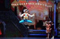 """[Photo] Mãn nhãn với vở ballet """"Kẹp hạt dẻ"""" theo công nghệ 3D"""