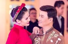 """Quang Linh tình tứ với Thành Lê ngoài hậu trường """"Mùa Đông xứ Huế"""""""