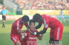 Vòng 13 V-League 2015: Becamex Bình Dương vô địch lượt đi