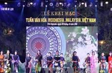 Tuần văn hóa Malaysia - Indonesia -Việt Nam: Hội tụ sắc màu