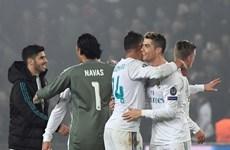 Real Madrid, Liverpool thẳng tiến vào tứ kết UEFA Champions League