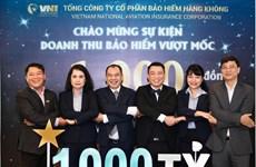 Bảo hiểm hàng không VNI gia nhập câu lạc bộ doanh thu nghìn tỷ đồng