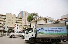 Vinamilk 'cấp tốc chi viện' 150.000 sản phẩm sữa cho viện Bạch Mai
