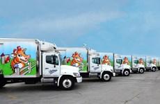 Mỹ: Nhà máy sữa của Vinamilk ủng hộ 23.000 lít sữa cho người dân