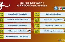 Giải bóng đá Vô địch Đức Bundesliga sẽ được VTV truyền hình trực tiếp