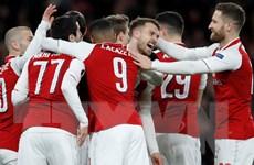 Đè bẹp CSKA, Arsenal đặt một chân vào bán kết Europa League
