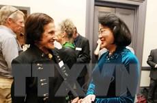 Phó Chủ tịch Đặng Thị Ngọc Thịnh thăm các trường đại học Australia