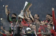 [Photo] Atletico Madrid vô địch Europa League 2017-2018