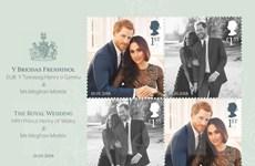 Royal Mail ra mắt bộ tem đặc biệt chào mừng đám cưới Hoàng gia Anh
