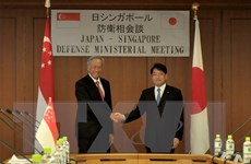 Nhật Bản, Singapore nhất trí hỗ trợ cuộc gặp thượng đỉnh Mỹ-Triều