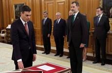 Ông Pedro Sanchez tuyên thệ nhậm chức Thủ tướng Tây Ban Nha