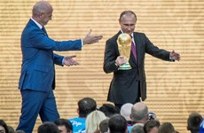 World Cup 2018: Tổng thống Nga Putin khích lệ tinh thần đội chủ nhà