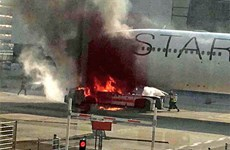 Đức: Hỏa hoạn tại sân bay Frankfurt khiến nhiều người bị thương