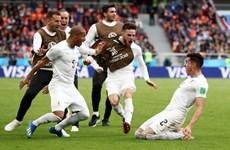 Uruguay mới lần đầu thắng trận ra quân World Cup từ năm 1970
