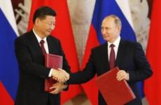 Trung Quốc và Nga thúc đẩy quan hệ đối tác chiến lược toàn diện
