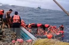 Khó tìm thấy người sống sót trong vụ chìm tàu ở Phuket