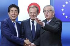 EU- Nhật Bản lùi thời điểm tổ chức hội nghị thượng đỉnh