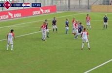 [Video] Các cầu thủ nhí tái hiện trận chung kết World Cup 2018