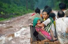 Bộ Quốc phòng hỗ trợ Lào khắc phục hậu quả vỡ đập thủy điện