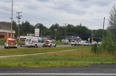 Canada: 2 cảnh sát thiệt mạng trong vụ xả súng ở Fredericto