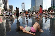 Hàn Quốc trải qua đợt nắng nóng khắc nghiệt nhất trong lịch sử
