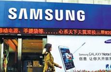 Trung Quốc trở thành thị trường lớn nhất của hãng Samsung