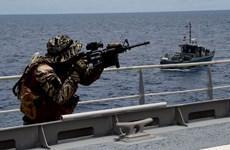 Các nước châu Á và Mỹ khởi động diễn tập an ninh hàng hải