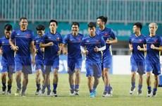 Olympic Việt Nam bí mật tập theo 'liệu pháp' riêng để đấu Hàn Quốc