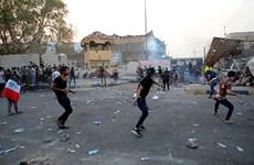 Cháy trụ sở chính quyền tại thành phố Basra của Iraq