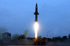 Ấn Độ phóng thử thành công tên lửa tự chế tạo Prithvi-II