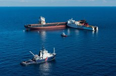 Đã tách được hai chiếc tàu đâm nhau tại vủng biển Địa Trung Hải