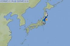 Động đất mạnh xấp xỉ 6 độ tại Nhật Bản và Đài Loan