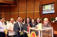 Nhất trí cao việc giới thiệu Tổng Bí thư giữ chức Chủ tịch nước