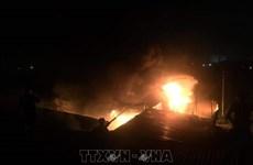 Cháy nhiều nơi tại Nghệ An gây thiệt hại lớn về tài sản